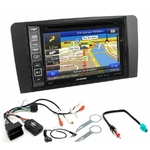 Pack autoradio GPS Audi A3 de 2003 à 2012 - iLX-702D, iLX-F903D, INE-W611D ou INE-W720D au choix