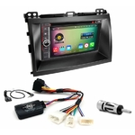 Pack autoradio Android GPS Toyota Land Cruiser Prado et Lexus GX-470 de 2003 à 2009 - WIFI Bluetooth écran tactile HD