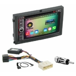 Pack autoradio Android GPS Ssangyong Rexton de 2006 à 2013 - WIFI Bluetooth écran tactile HD