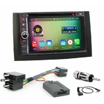 Pack autoradio Android GPS Skoda Fabia de 01/2003 à 12/2006 - WIFI Bluetooth écran tactile HD