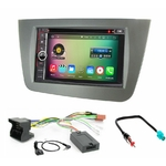 Pack autoradio Android GPS Seat Altea, Altea XL et Toledo - WIFI Bluetooth écran tactile HD