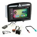 Pack autoradio Android GPS Peugeot 308 et RCZ - WIFI Bluetooth écran tactile HD