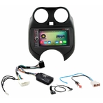 Pack autoradio Android GPS Nissan Micra de 2011 à 2013 - WIFI Bluetooth écran tactile HD