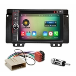 Pack autoradio Android GPS Land Rover Freelander de 2004 à 2006 - WIFI Bluetooth écran tactile HD