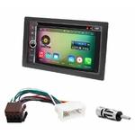 Pack autoradio Android GPS Kia Carens de 2007 à 2010 - WIFI Bluetooth écran tactile HD