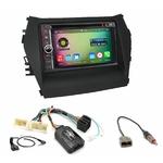 Pack autoradio Android GPS Hyundai Santa Fe de 2012 à 2018 - WIFI Bluetooth écran tactile HD