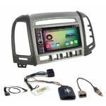 Pack autoradio Android GPS Hyundai Santa Fe de 2006 à 2012 - WIFI Bluetooth écran tactile HD