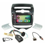 Pack autoradio Android GPS Hyundai ix20 depuis 2010 - WIFI Bluetooth écran tactile HD