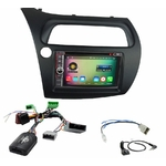 Pack autoradio Android GPS Honda Civic 5 portes de 2006 à 2012 - WIFI Bluetooth écran tactile HD