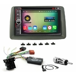 Pack autoradio Android GPS Fiat Panda de 2003 à 2011 - WIFI Bluetooth écran tactile HD