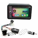Pack autoradio Android GPS Alfa Romeo 159, Brera & Spider depuis 2005 - WIFI Bluetooth écran tactile HD