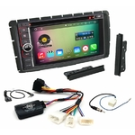 Pack autoradio Android GPS Toyota Hilux depuis 2012 - WIFI Bluetooth écran tactile HD