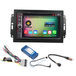 Pack autoradio Android GPS Dodge Caliber Charger Durango Grand Caravan Journey Magnum et RAM Pickup (Remplace autoradio NAV d'origine) - WIFI Bluetooth écran tactile HD