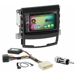 Pack autoradio Android GPS Ssangyong Korando de 2010 à 2013 - WIFI Bluetooth écran tactile HD