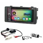 Pack autoradio Android GPS Mitsubishi Lancer, ASX et Outlander depuis 2013 - WIFI Bluetooth écran tactile HD
