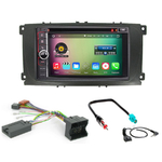 Pack autoradio Android GPS Ford Mondeo, Focus, S-Max, Galaxy - Façade Argentée ou Noire - WIFI Bluetooth écran tactile HD