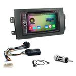 Pack autoradio Android GPS Suzuki SX4 et Fiat Sedici de 2006 à 2012 - WIFI Bluetooth écran tactile HD