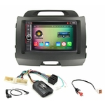 Pack autoradio Android GPS Kia Sportage de 08/2010 à 2014 - WIFI Bluetooth écran tactile HD