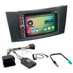 Pack autoradio Android GPS Mercedes Classe E, Classe G et CLS - WIFI Bluetooth écran tactile HD