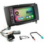Pack autoradio Android GPS Mercedes CLK W209 de 2004 à 2009 - WIFI Bluetooth écran tactile HD