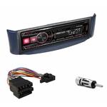 Autoradio Alpine Smart ForTwo de 10/1998 à 02/2007 - UTE-200BT, UTE-92BT, CDE-203BT, CDE-201R, CDE-193BT ou CDE-195BT au choix