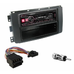 Autoradio Alpine Smart ForTwo de 2007 à 08/2010 - UTE-200BT, UTE-92BT, CDE-203BT, CDE-201R, CDE-193BT ou CDE-195BT au choix