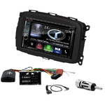 Autoradio Navigation CarPlay et Android Auto DNX5170BTS, DNX450TR ou DNX8170DABS Alfa Romeo Giulietta depuis 2013
