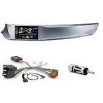 Autoradio Navigation CarPlay et Android Auto DNX5170BTS, DNX450TR ou DNX8170DABS Alfa Romeo Giulietta de 2010 à 2013 - façade grise, noire, rouge ou blanche