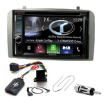 Autoradio Navigation CarPlay et Android Auto DNX5170BTS, DNX450TR ou DNX8170DAB Alfa Romeo 147 & GT