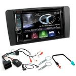 Autoradio Navigation CarPlay et Android Auto DNX5180BTS, DNX451RVS ou DNX8180DABS Audi A3 de 2003 à 2012