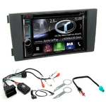 Autoradio Navigation CarPlay et Android Auto DNX5180BTS, DNX451RVS ou DNX8180DABS Audi A6 de 1998 à 2004
