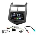 Autoradio Navigation CarPlay et Android Auto DNX5170BTS, DNX450TR ou DNX8170DABS Chevrolet Aveo depuis 2011