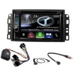 Autoradio Navigation CarPlay et Android Auto DNX5170BTS, DNX450TR ou DNX8170DABS Chevrolet Epica, Aveo & Captiva