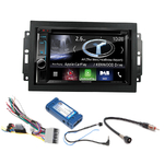 Autoradio Navigation CarPlay et Android Auto DNX5180BTS, DNX451RVS ou DNX8180DABS Dodge avec REJ d'origine