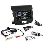 Autoradio Navigation CarPlay et Android Auto DNX5170BTS, DNX450TR ou DNX8170DABS Mitsubishi Outlander, Citroën C-Crosser et Peugeot 4007 depuis 2007