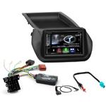 Autoradio Navigation CarPlay et Android Auto DNX5170BTS, DNX450TR ou DNX8170DABS Peugeot Bipper Citroën Nemo et Fiat Qubo Fiorino
