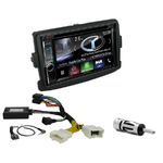Autoradio Navigation CarPlay et Android Auto DNX5180BTS, DNX451RVS ou DNX8180DABS Dacia Lodgy Sandero Logan Duster & Dokker