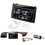 Autoradio Navigation CarPlay et Android Auto DNX5170BTS, DNX450TR ou DNX8170DABS Fiat Doblo et Opel Combo depuis 2015