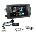 Autoradio Navigation CarPlay et Android Auto DNX5180BTS, DNX451RVS ou DNX8180DABS Suzuki SX4 et Fiat Sedici