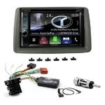 Autoradio Navigation CarPlay et Android Auto DNX5180BTS, DNX451RVS ou DNX8180DABS Fiat Panda de 2003 à 2012