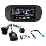 Autoradio Navigation CarPlay et Android Auto DNX5170BTS, DNX450TR ou DNX8170DABS Fiat 500