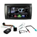Autoradio Navigation CarPlay et Android Auto DNX5180BTS, DNX451RVS ou DNX8180DABS Fiat Bravo de 2007 à 2014