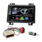 Autoradio Navigation CarPlay et Android Auto DNX5170BTS, DNX450TR ou DNX8170DABS Ford Fiesta et Fusion avant 09/2005