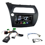Autoradio Navigation CarPlay et Android Auto DNX5180BTS, DNX451RVS ou DNX8180DABS Honda Civic 2006 à 2011 (modèle 5 portes)