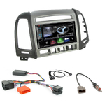 Autoradio Navigation CarPlay et Android Auto DNX5180BTS, DNX451RVS ou DNX8180DABS Hyundai Santa Fe de 2007 à 2012