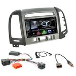 Autoradio Navigation CarPlay et Android Auto DNX5170BTS, DNX450TR ou DNX8170DABS Hyundai Santa Fe de 2007 à 2012 avec 3 boutons