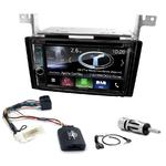 Autoradio Navigation CarPlay et Android Auto DNR4190DABS, DNX5190DABS ou DNX9190DABS Hyundai Santa Fe de 2007 à 2012