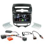Autoradio Navigation CarPlay et Android Auto DNX5170BTS, DNX450TR ou DNX8170DABS Hyundai IX20 depuis 2010 - climatisation manuelle
