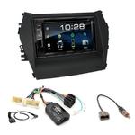 Autoradio Navigation CarPlay et Android Auto DNX5180BTS, DNX451RVS ou DNX8180DABS Hyundai Santa Fe de 2012 à 2018