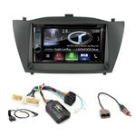 Autoradio Navigation CarPlay et Android Auto DNX5180BTS, DNX451RVS ou DNX8180DABS Hyundai IX35 de 2010 à 2013